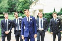 GROOMSMEN / Make sure the men get cleaned up; tuxes, ties, cuff links-- the whole thing.