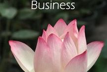 Business with Wisdom & Heart / Being all of who we are as spiritual beings having a human experience, even when it comes to our businesses.
