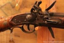 New Mexico Gun Museum Tour / Jim Gordon's museum in Glorieta, New Mexico is a small privately run collection of vintage firearms. Like many small museums, Jim's does not have regular business hours and is by appointment only for interested historians and collectors.