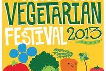 Vegan Festival posters / Locandine e depliant di Festival Vegan