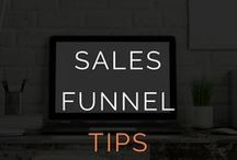 Sales Funnel Tips For Online Entrepreneurs / Sales Funnels For Online Entrepreneurs - tech, copy and more.  sales funnel, sales funnels, busines automation, profit, make money,