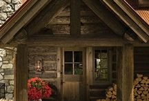Cabin Fever / Great ideas for cabins & decorating cabins.