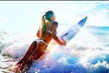 Surf, summer, love