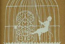 Scherenschnitte / Snippity snip snip: the art of paper cutting  / by Barbara Alderton