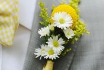Hello Yellow! Our Happy Wedding Plans / Great wedding ideas for a yellow wedding