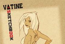 Sketchbook Vatine #1