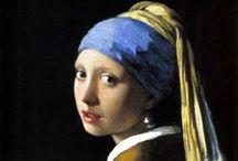Вермеер Делфтский (Vermeer van Delft) Ян (1632–1675). / Голландский живописец, крупнейший мастер нидерландской жанровой и пейзажной живописи.