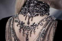 All the sparklies / Because women are descended from magpies...