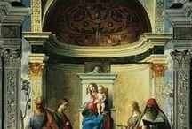 Джованни Беллини. / Джованни Беллини (итал. Giovanni Bellini; ок. 1430—1433, Венеция — 1516, Венеция) — итальянский художник венецианской школы живописи.