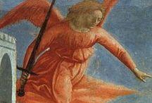 Базилика Санта-Мария-дель-Кармине, Капелла Бранкаччи, Флоренция. / Церковь во Флоренции на южном берегу реки Арно. Посвящена Мадонне ордена кармелитов. Внешне неприметная флорентийская церковь получила известность благодаря знаменитым фрескам в капелле Бранкаччи.  Фрески Мазаччо в капелле Бранкаччи совершили революцию в европейском изобразительном искусстве.