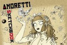 Sketchbook Amoretti #1 / http://bit.ly/shop-skamoretti