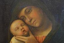 Андреа Мантенья. / В 1453 году Мантенья женился на дочери Джакопо Беллини Николосии (Николозе). В 1460 году он становится придворным художником у герцогов Гонзага и остаётся в этой должности до своей смерти. В своей живописи он следовал традиции флорентинца Мазаччо, но отдавал предпочтение более стойкой темпере, как это было принято у мастеров Венеции.