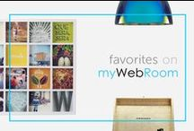 shop our favorites / All of our favorite products that you can find on myWebRoom.com!