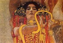 Klimt. / (Klimt Gustav) (1862-1918), известнейший австрийский живописец. Один из самых ярких представителей стиля модерн.