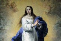 Мурильо, Бартоломе Эстебан. / Желание совершенствоваться привело его в Мадрид, где его земляк, Веласкес, доставил ему возможность изучать и копировать в королевских дворцах произведения Тициана, Рубенса, ван Дейка и Риберы и сам, своей свободной, мастерской техникой оказал сильное влияние на его развитие. Годы 1642—1645 остаются наиболее таинственными в жизни Мурильо. В 1645 г. он возвращается в Севилью совсем другим художником.
