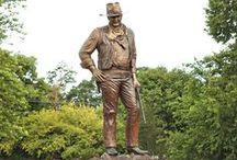 Duke Wayne / John Wayne / by LOU THIESEN