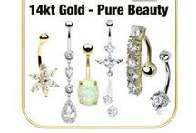 14K GOLD / Luxurious yellow and white gold