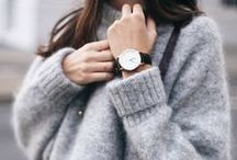 fashion / colour palette: black, grey, white // nude, khaki, light pink minimalistic