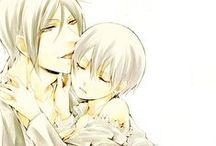Sebastian x Ciel / Du sebastian x ciel a perte de vue parce que ce couple est juste trop magnifique.