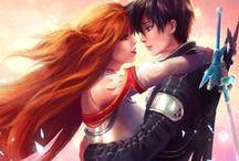 Sword art online / principalement du Kirito x Asuna mais il y a de tout!!