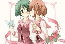 """coup de coeur couple yuri / équivalant de mon ''coup de cœur yaoi"""" mais pour les couple yuri..."""