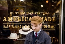 Hat Tricks / Essential toppers for stylish gents, inspired by our local SF favorite, Goorin Brothers!