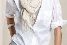 INCONTOURNABLE,  LA CHEMISE BLANCHE. / Raffinées ou masculines, j'aime les chemises blanches.