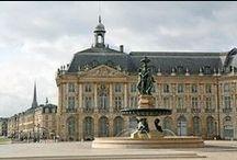 BORDEAUX et sa région. / Bordeaux, la campagne bordelaise, le bassin d'Arcachon, les châteaux du Bordelais.