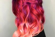 Colorful Hair / Cabelos coloridos