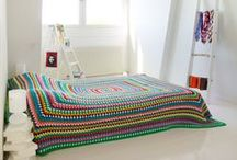 Crocheted Blankets and Throws