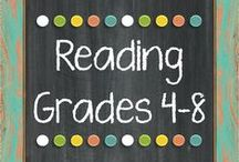 Reading Resources   Gr 4 - 8:    *The Lesson Deli / Reading Resources for grades 4-8 http://thelessondeli.blogspot.com/