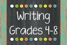 Writing Resources Grades: 4 - 8  *The Lesson Deli / Writing Resources for grades 4-8. http://thelessondeli.blogspot.com/