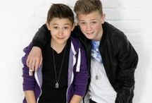 bars and melody / 2 boys that where on bgt 2014 Charlie;15 leondre;13 they rapped about bullying and came 3rd