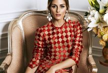 She walks in style / All things Olivia Palermo, ultimate style icon / by Benceline