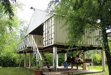 Architecture - Containers / The re-use and adaption of shipping containers as preformed elements of architecture.