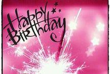 Happy Birthday / #Happy #Birthday #wishes #HB Herzlichen Glückwünsch Wünsche #Geburtstag #Party