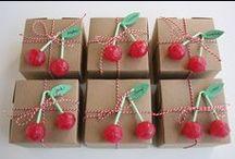 All kind of cherries. / Des cerises comme je les aime....