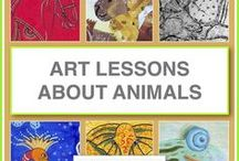 Art Lessons About Animals / Online art lessons for kids inspired by real and imaginary animals from around the world. Lessons include resources for unit studies and are designed so that kids who can read can follow the lessons on their own.