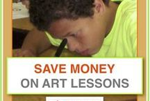 Best prices on art lessons for kids / Save up to 25% with these bundled lessons