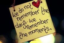 quoting my days away