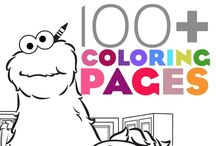 Color Pages / by Nicki Wendel