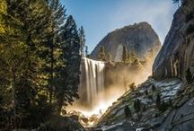Spectacular Yosemite Beauty / Marvel at the beauty of the park's spectacular landscape: soaring peaks, towering trees, lush meadows and world-famous waterfalls.
