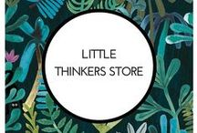 My TpT store / Here you will find a snapshot of printables, hands-on activities and lots of resources made by Little Thinkers. You can grab them in my store: https://www.teacherspayteachers.com/Store/Little-Thinkers