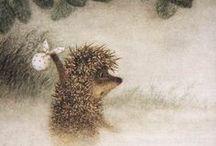 только для ежиков (3) / каждый уважающий себя ежик любит гулять в тумане. все ежики родились в ноябре