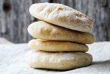 Bread type things / Bread, pita, crackers...