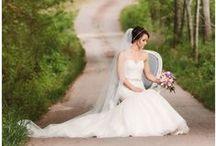 Bridal Portraits at Greenbrier Farms / Greenbrier Farms is available for bridal portraits.