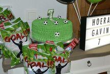Voetbal feest / Simpel en leuke voetbal thema thuis