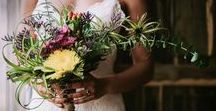 Wedding Bouquets / Ramos de novia / Wedding Bouquets Inspiration for brides and brides-to-be. Wild, colorful, elegant and romantic flowers.