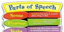English Grammar (parts of speech) / Информация о частях речи английского языка. Содержит презентации, визуальные материалы, рабочие листы, игры по теме.