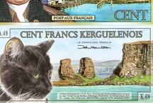 Cats & World Money / Cats on banknotes (paper money)